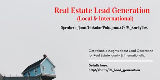 REAL ESTATE LEAD GENERATION (Local & International)