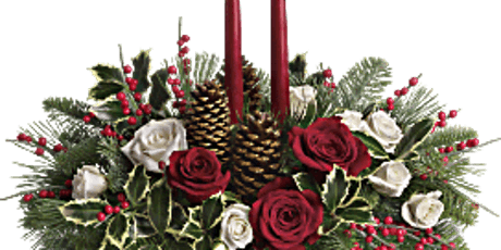 Christmas Candle Centerpiece tickets