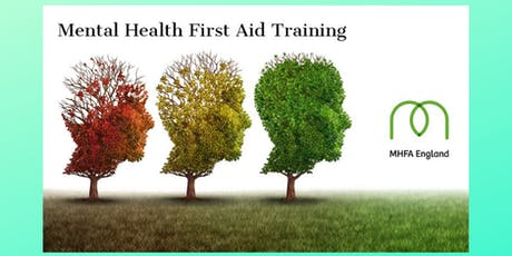 MHFA 2 day Adult Mental Health First Aider course tickets