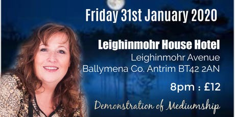 Ballymena Psychic Night tickets