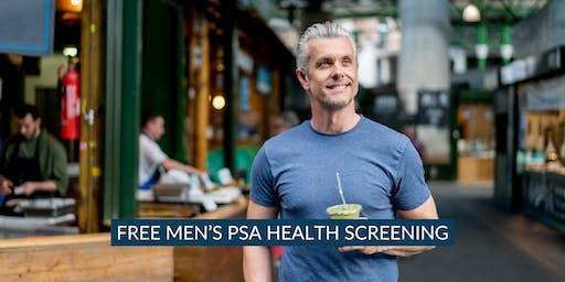FREE Men's PSA Health Screening