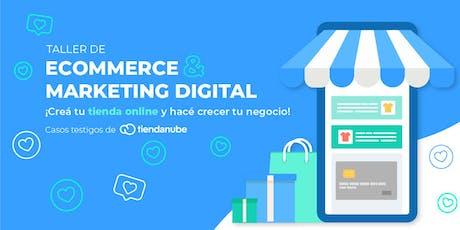 Taller de Ecommerce y Marketing Digital entradas
