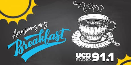 UCB Radio 91.1 Anniversary Breakfast tickets
