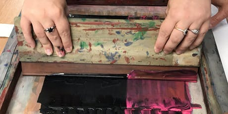 Screen printing workshop tickets