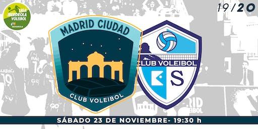LIGA IBERDROLA VOLEIBOL (J7): Madrid Chamberí vs Kiele Socuéllamos