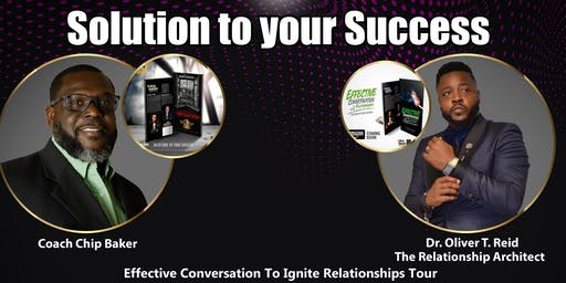 Effective Conversation To Ignite Relationships Tour- Dallas