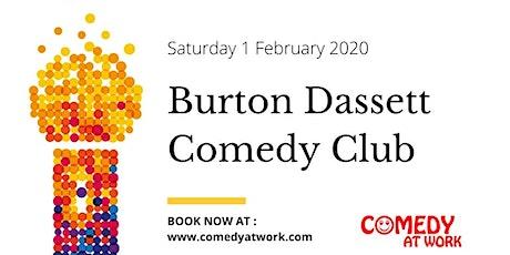 Comedy Club - Burton Dassett tickets
