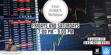 FREE Forex Webinar tickets