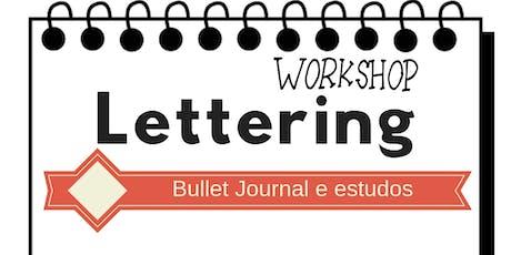 Workshop de Hand Lettering - Para estudos e Bullet Journal em Recife ingressos