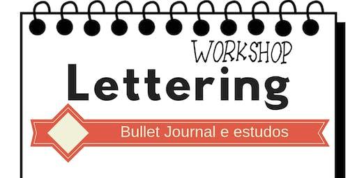 Workshop de Hand Lettering - Para estudos e Bullet Journal em Recife