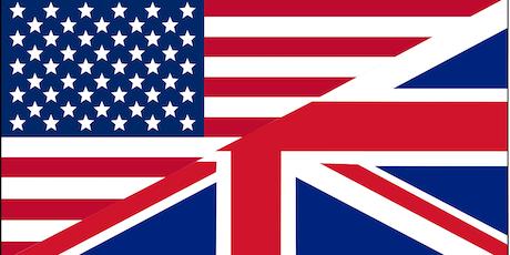 American Vs. British Showdown biglietti