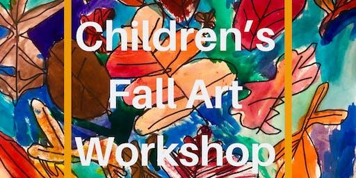 Children's Fall Art Workshop