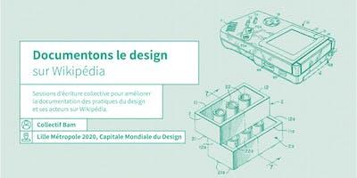 ATELIER - Documentons le design sur Wikipédia