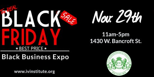 The REAL Black Friday Toledo Black Business Expo!