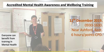 Mental Health Awareness and Wellbeing course.