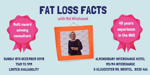 FAT LOSS 101 with Multi Award Winning Consultant  Mel Hitchcock