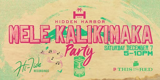 Hidden Harbor's Mele Kalikimaka Hawaiian Holiday Party