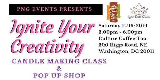 Ignite Your Creativity Candle Making Event