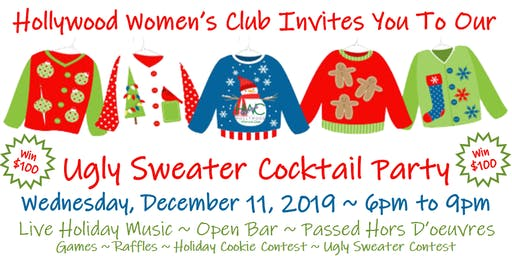 UGLY SWEATER COCKTAIL PARTY