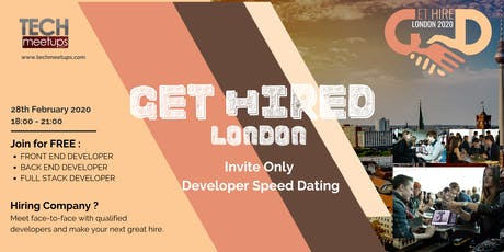 Get Hired London 2020 tickets