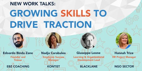 New Work Talks - Growing Skills to Drive Traction tickets