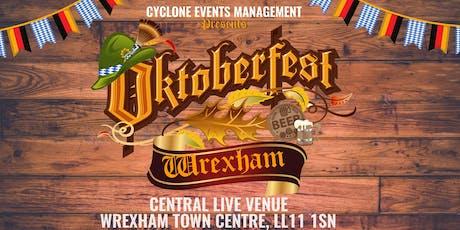 OKTOBERFEST COMES TO WREXHAM tickets