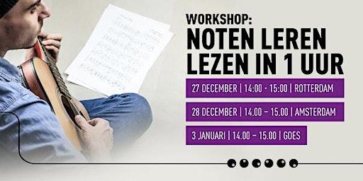 Workshop Noten leren lezen