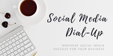 Social Media Dial-up tickets