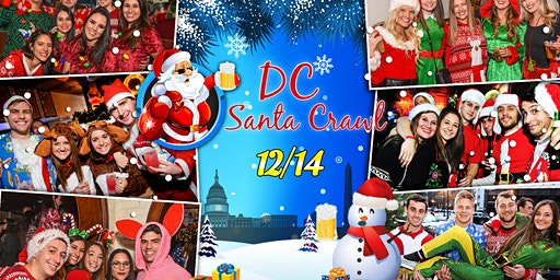 DC Santa Crawl 2019 (Washington, DC)