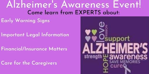 Alzheimer's Awareness Event