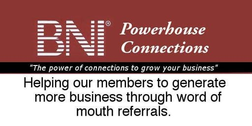 BNI Powerhouse Connections Networking Breakfast
