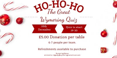 The great Wymering Quiz - Christmas