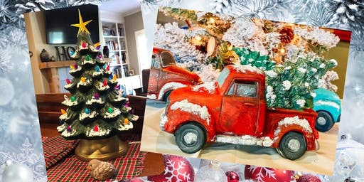 5 SPOTS LEFT Truck and Tree OR Christmas Tree