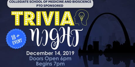 Collegiate School of Medicine & Science PTO Trivia Night tickets