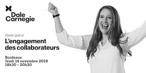 L'engagement des collaborateurs - Atelier gratuit à Bordeaux