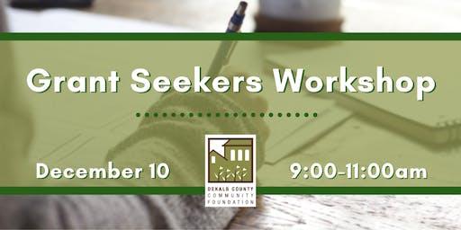 Grant Seekers Workshop
