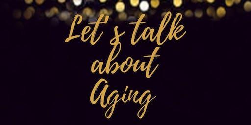 Let's Talk About Aging over BRUNCH