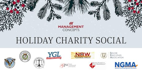 Holiday Charity Social: 1st Annual Partnership Appreciation Event tickets
