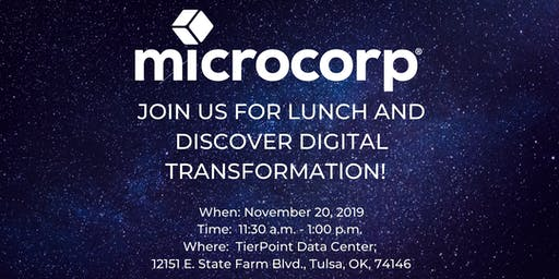 Discovering Digital Transformation: A Lunch and Learn - Tulsa