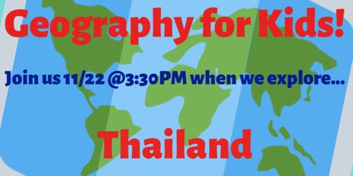Geography for Kids: Thailand