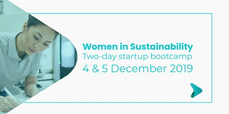 Women in Sustainability: Product Development, Pitching & Investment tickets