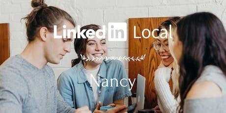LinkedIn Local Nancy ⋅ Première édition billets