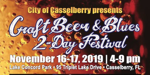 Craft Beer and Blues 2-Day Music Festival