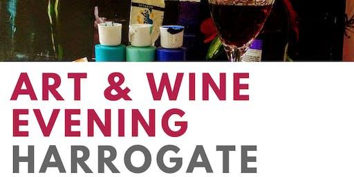 Art And Wine Evening Harrogate