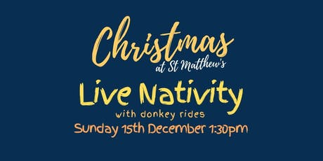 The Live Nativity With Donkey Rides at St Matthew's Croydon tickets