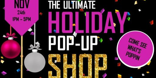 """The Ultimate Holiday Pop-Up Shop"""
