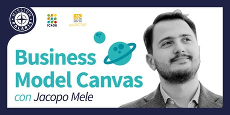 Business Model Canvas con Jacopo Mele biglietti