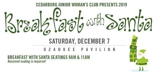 Cedarburg Junior Woman's Club Presents Breakfast With Santa