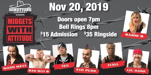 Steel Cage Main Event Midget Wrestling Show