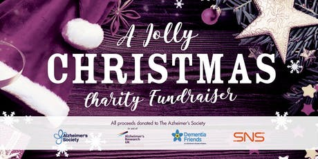 A Jolly Christmas 2019. Alzheimer's Society Charity Fundraiser tickets